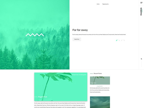 WP template Greenline