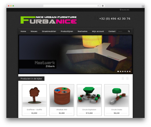 WP theme Refined Style - furbanice.com