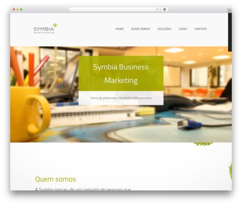 Bravo WordPress theme - symbia.com.br