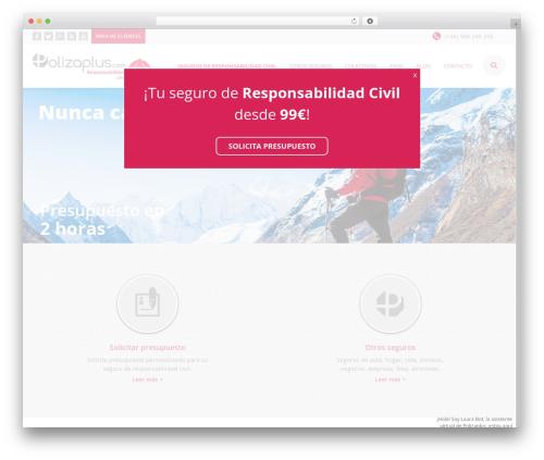 EXCEPTION theme WordPress - segurorcplus.com