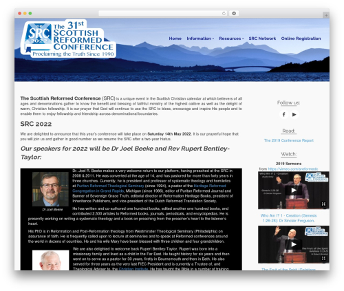 Pinnacle WordPress template free download - scottishreformedconference.org
