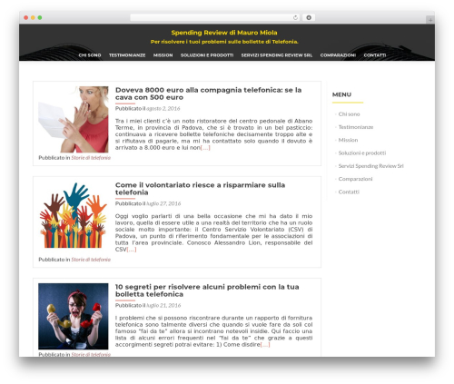 ResponsiveBoat free website theme - spending-review.com
