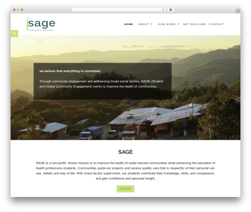 Theme WordPress Maisha - sage-community.com