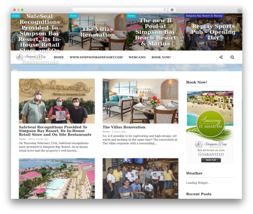WP template Particle by Bluthemes - simpsonbayresortnews.com