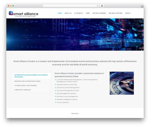 Brazil business WordPress theme - smartalliance.ro