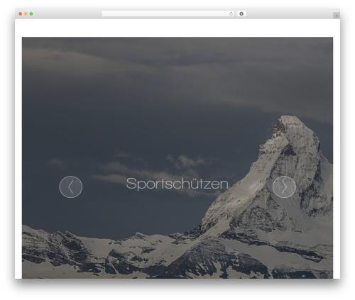 Chimera WordPress website template - ss-mm.ch