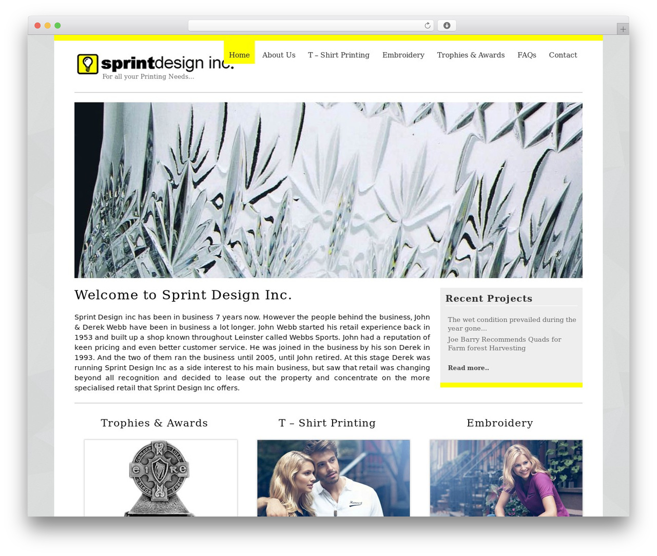 MyCorp WordPress theme - sprintdesigninc.ie