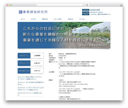 responsive_034 best WordPress theme - startupbiz.jp