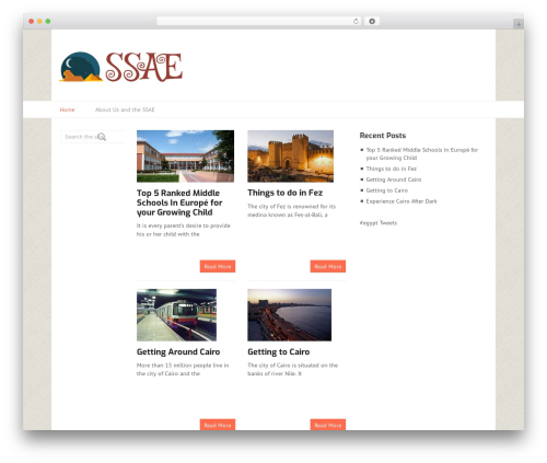 Split WordPress template - ssae.org.uk