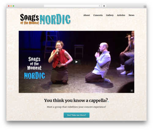 Theme WordPress Deck - songsofthemomentnordic.com