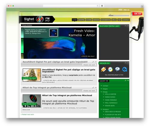 Theme WordPress Mixxmag Wordpress Theme - sighetfm.ro