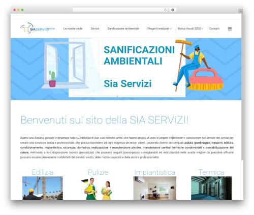 Best WordPress theme Satellite7 - siaservizi.net