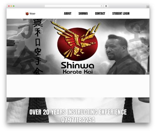 Betheme top WordPress theme - shinwakaratekai.co.uk