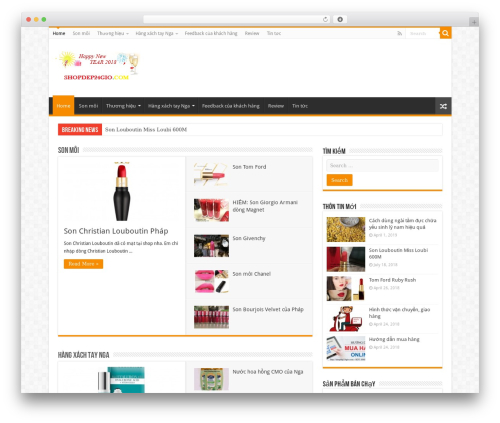 Sahifa (shared on wplocker.com) WordPress shop theme - shopdep24gio.com