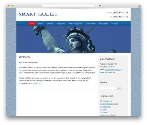 WordPress theme Customized - smarttaxllc.net