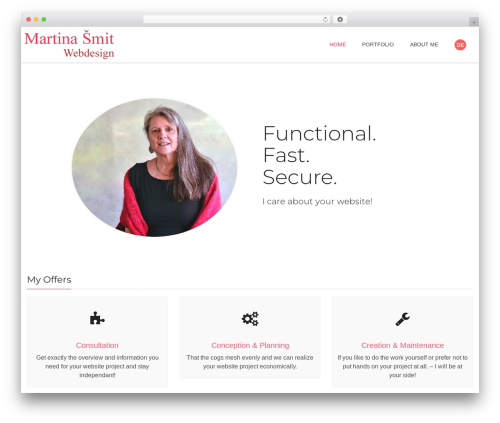 WordPress theme Nimva - smit-webdesign.mobi