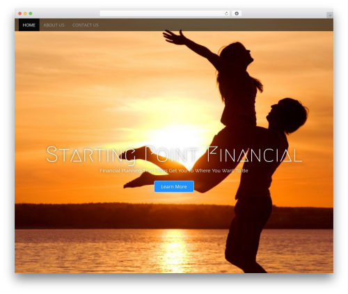 Arcade Basic best free WordPress theme - startingpointfinancial.com