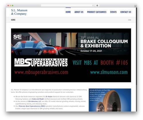 Avada best WordPress theme - slmunson.com
