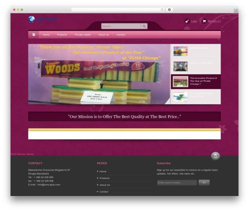 Bellissima theme WordPress - sms-grup.com