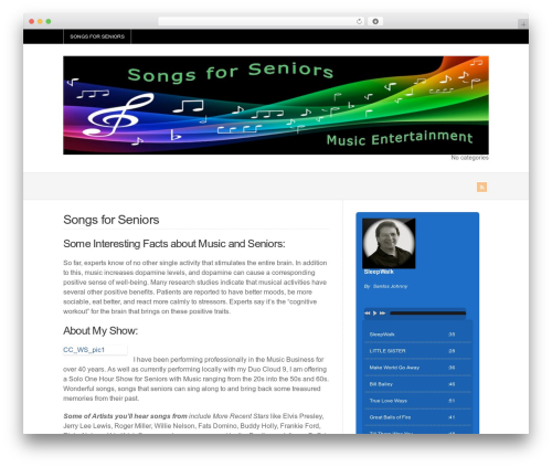 Best WordPress template WP-Brilliance - songsforseniors.info