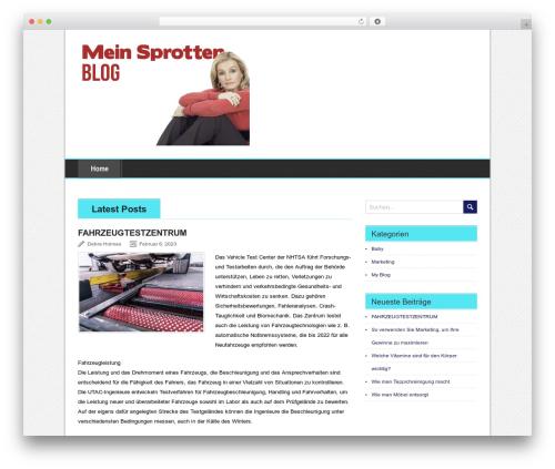 BrightNews WordPress news template - sprotten-express.com