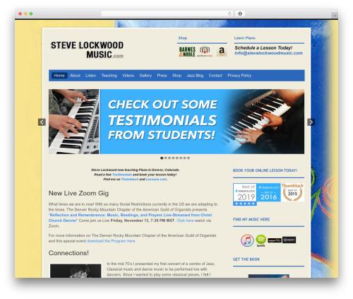 Free WordPress My Quicktags plugin - stevelockwoodmusic.com