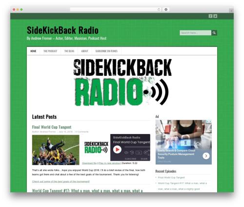 DaisyChain WordPress theme - sidekickback.com