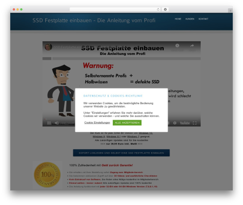 inFocus WordPress theme - ssd-festplatte-einbauen.com