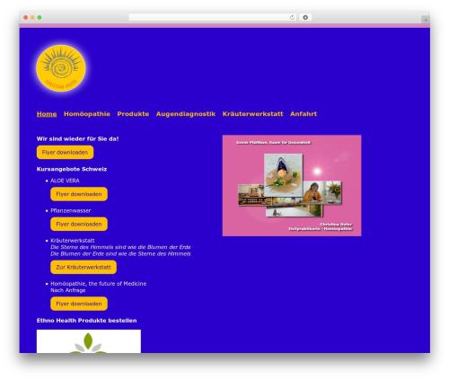 Free WordPress Royal Scroll to Top plugin - sun-net.ch