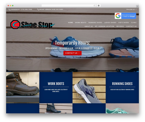 Theme WordPress Beacon Theme - shoestopky.com