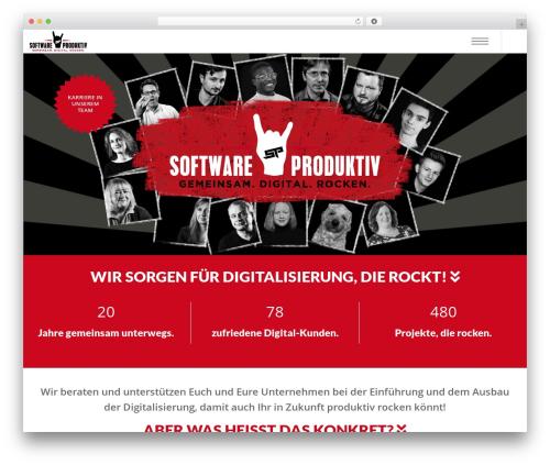Theme WordPress Corpus - softwareproduktiv.de