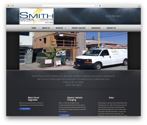 Theme WordPress Radial Premium Theme - smithelectricsd.com