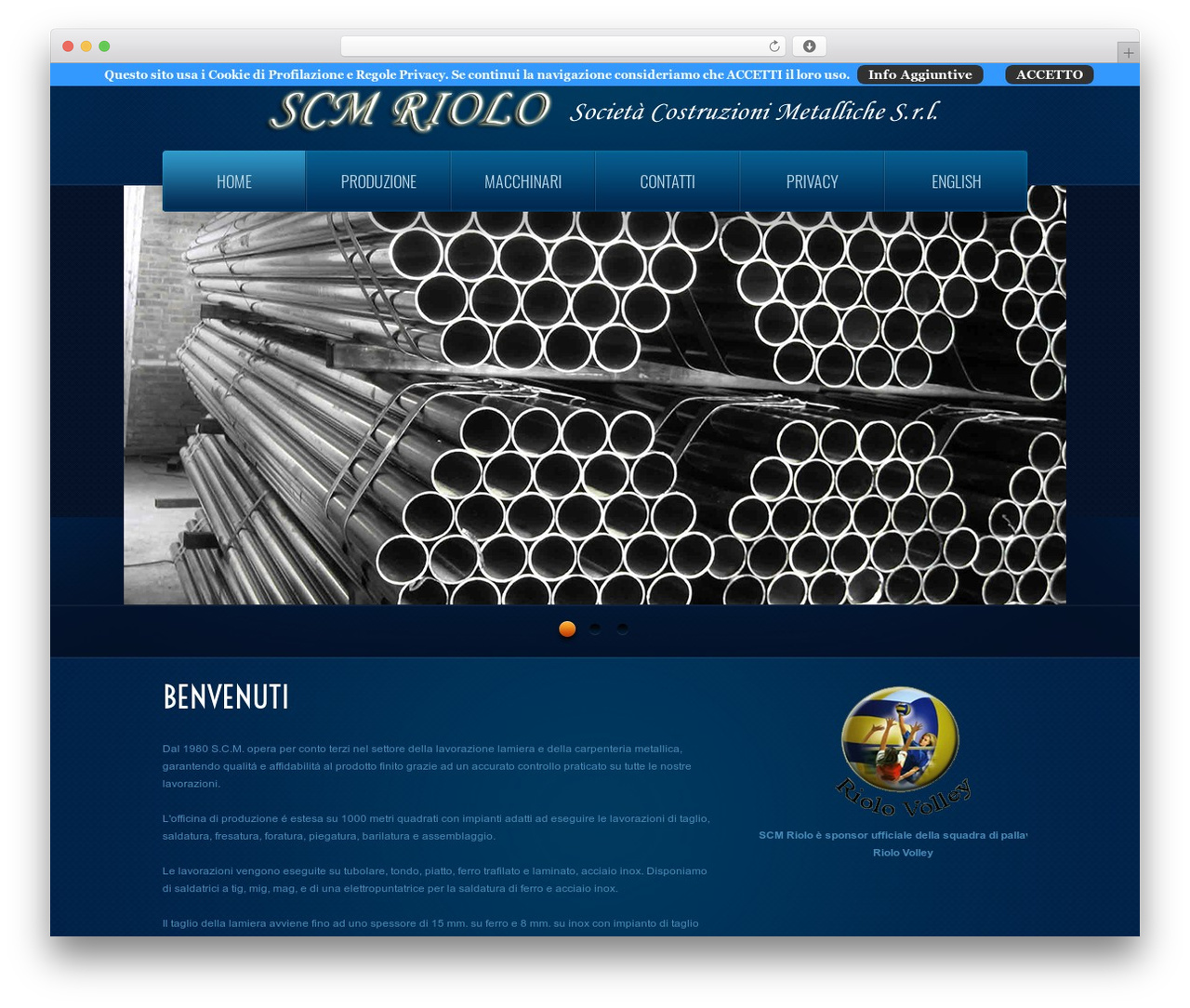 theme1866 WordPress template - scmriolo.com