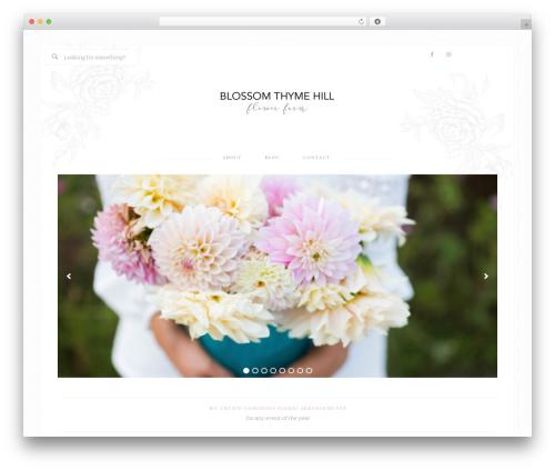 WordPress theme Bloom Theme - sophiesblessings.com