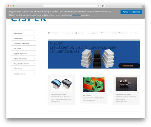 WordPress theme The7 - cisper-electronics.nl