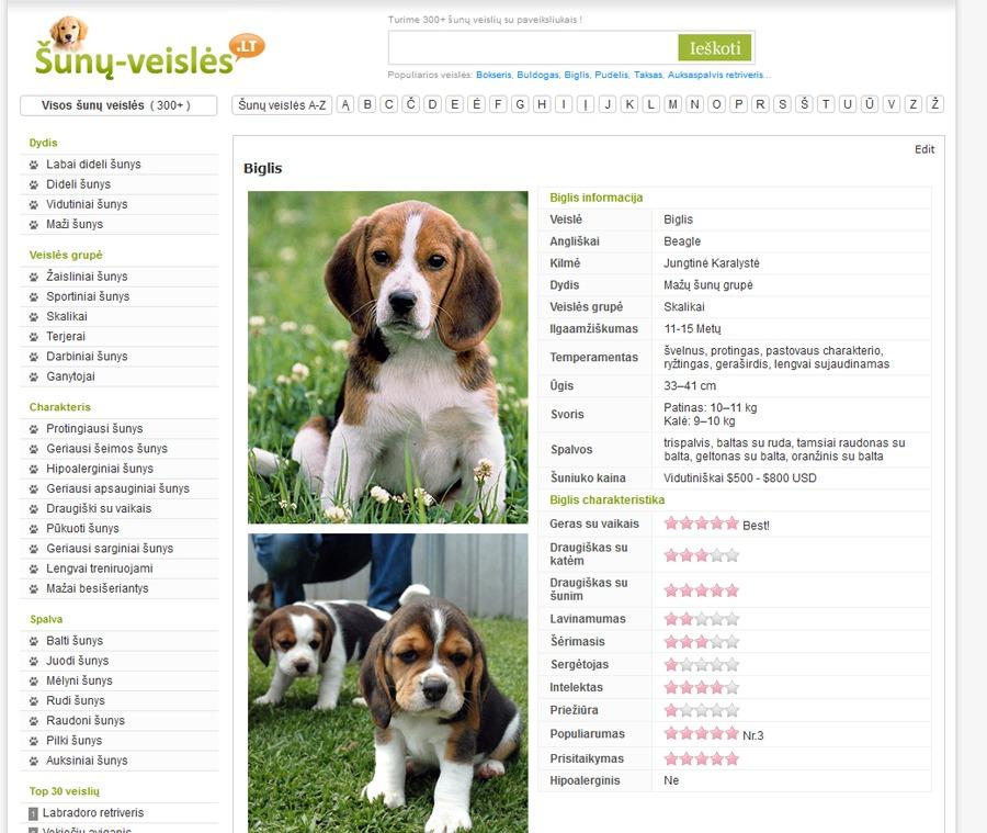 WPsimpy for dogs WordPress theme