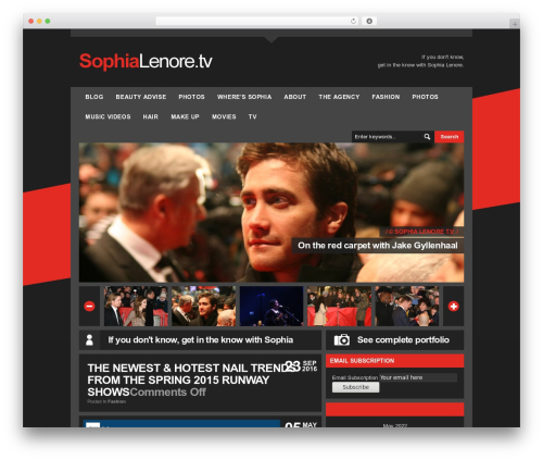 LondonCreative+ v4.2 premium WordPress theme - sophialenore.tv