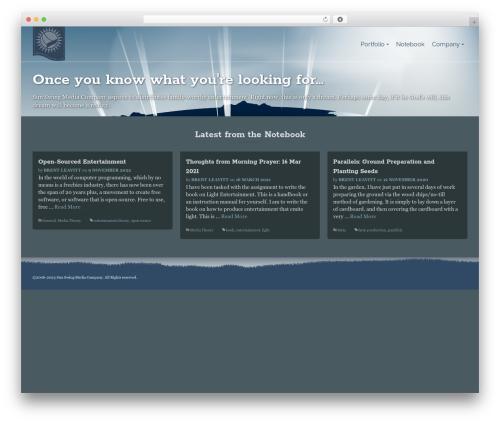Pinnacle business WordPress theme - sunswingmedia.com