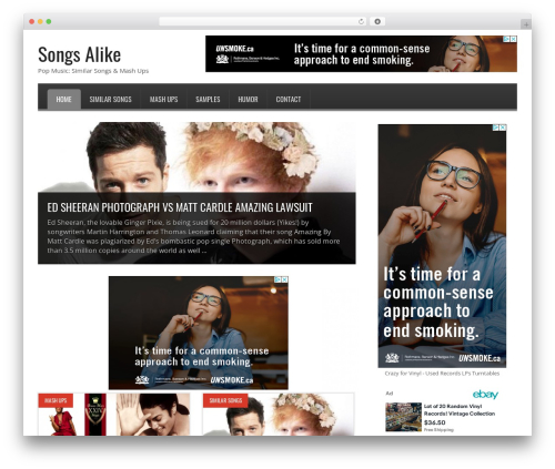 Free WordPress vooPlayer v4 plugin - songsalike.com