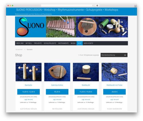WordPress template Hamburg - suono.at