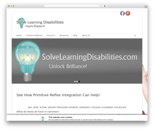 Catch Base Pro theme WordPress - solvelearningdisabilities.com
