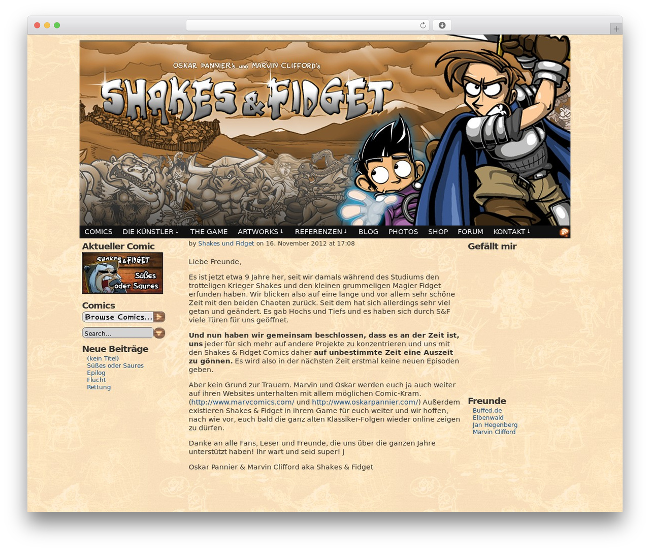 Shakes and fidget forum