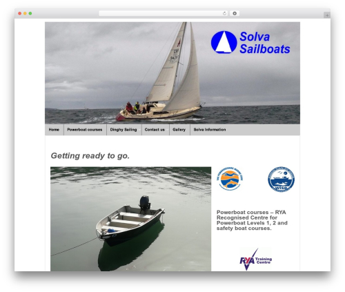 Responsive WordPress free download - solvasailboats.co.uk