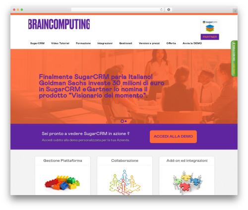 Swatch WordPress theme - soluzionecrm.it