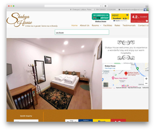 Gantry Theme for WordPress WordPress theme - shakyahouse.com