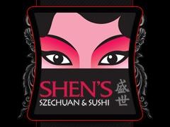Shen's Szechuan & Sushi theme WordPress
