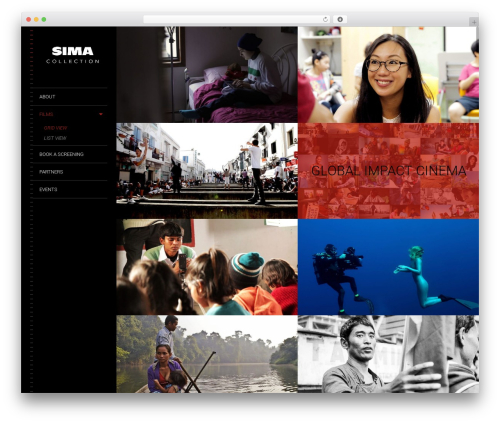 Lens template WordPress free - simacollection.com