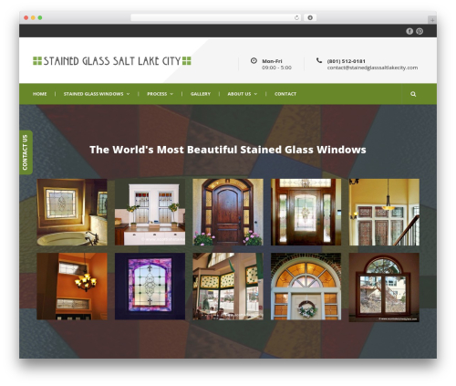 Theme WordPress Mega Project - stainedglasssaltlakecity.com