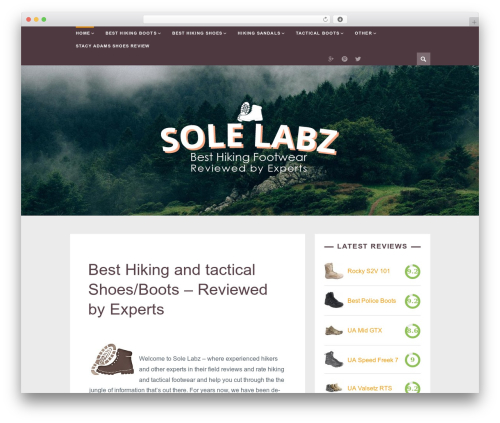 Theme WordPress ST Squirrel - solelabz.com