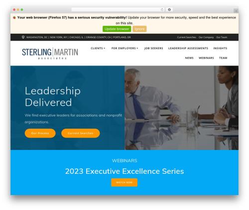 WordPress theme Mesmerize PRO - smartinsearch.com
